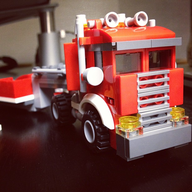 Lego Tractor Trailer